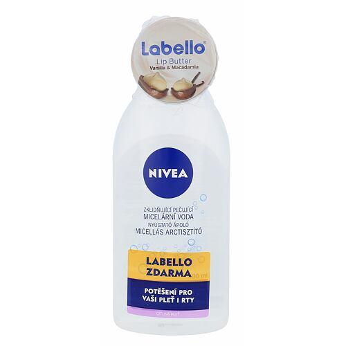 Nivea Sensitive 3in1 Micellar Cleansing Water micelární voda dárková kazeta pro ženy