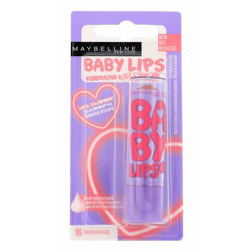 Maybelline Baby Lips Valentine Kiss Balm balzám na rty 4,4 g pro ženy