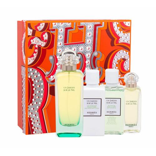 Hermes Un Jardin Sur Le Nil EDT EDT 100 ml + tělové mléko 40 ml + sprchový gel 40 ml + EDT 7,5 ml pro ženy
