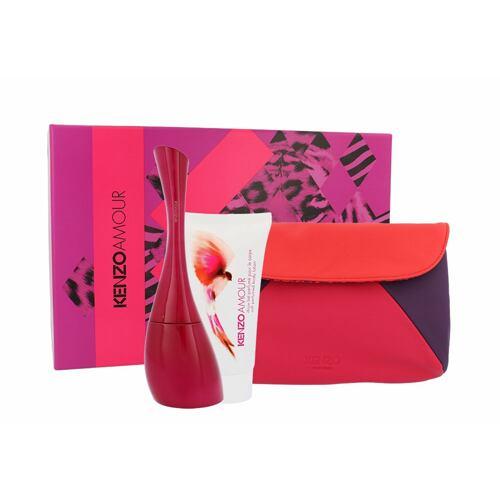 Kenzo Kenzo Amour EDP EDP 100 ml + tělové mléko 50 ml + kosmetická taška pro ženy