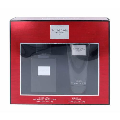 Lady Gaga Eau de Gaga 001 EDP EDP 50 ml + sprchový gel 75 ml Poškozená krabička Unisex
