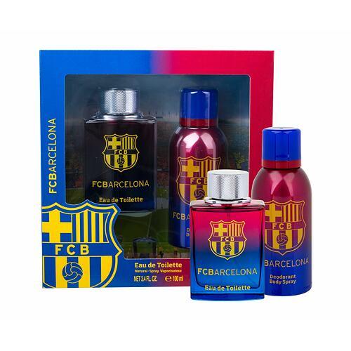 EP Line FC Barcelona EDT EDT 100 ml + deospray 150 ml pro muže