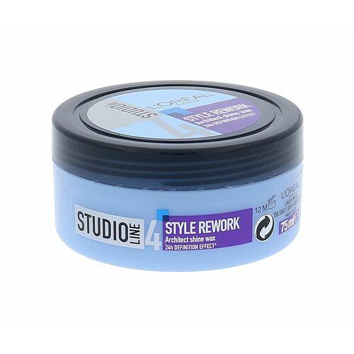 L´Oréal Paris Studio Line Style Rework Architect vosk na vlasy 75 ml pro ženy