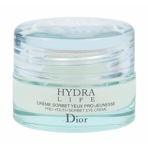 Christian Dior Hydra Life Sorbet oční krém 15 ml pro ženy