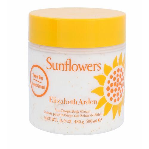 Elizabeth Arden Sunflowers tělový krém 500 ml pro ženy