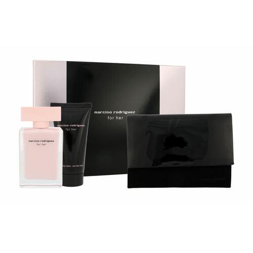 Narciso Rodriguez For Her EDP EDP 50 ml + tělový krém 50 ml + kosmetická taška pro ženy