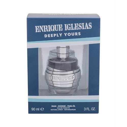 Enrique Iglesias Deeply Yours Man EDT 90 ml pro muže