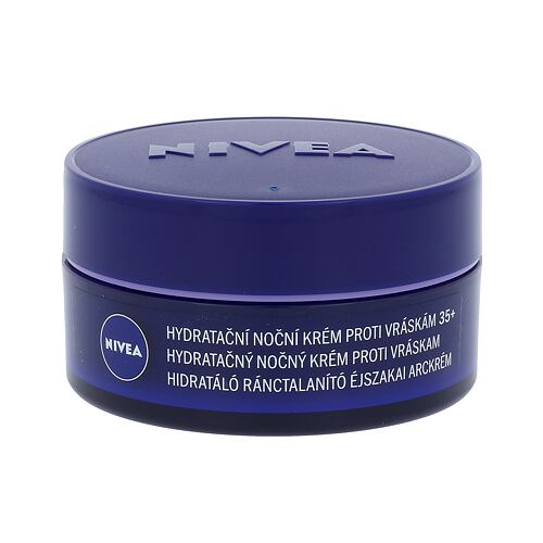 Nivea Anti Wrinkle + Moisture noční pleťový krém 50 ml pro ženy