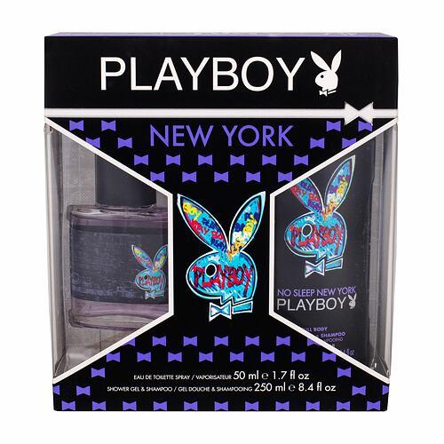 Playboy New York For Him EDT EDT 50 ml + sprchový gel 250 ml pro muže