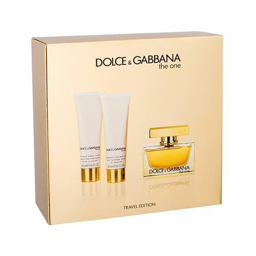 Dolce&Gabbana The One EDP EDP 75 ml + tělové mléko 50 ml + sprchový gel 50 ml pro ženy