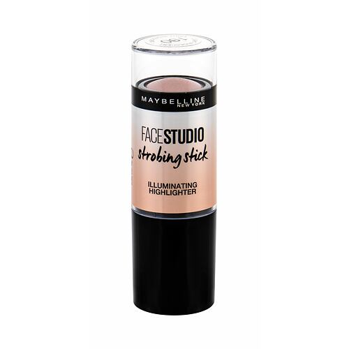 Rozjasňovač Maybelline FaceStudio Strobing Stick 9 g 100 Light-Iridescent