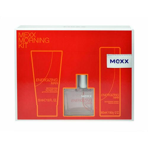 Mexx Energizing Man EDT EDT 30 ml + sprchový gel 50 ml + deodorant 50 ml pro muže