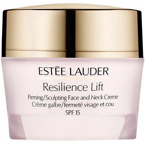 Estée Lauder Resilience Lift Face Neck Cream SPF15 denní pleťový krém 50 ml pro ženy