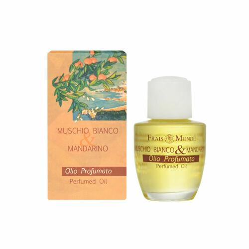 Frais Monde White Musk And Mandarin Orange parfémovaný olej 12 ml pro ženy