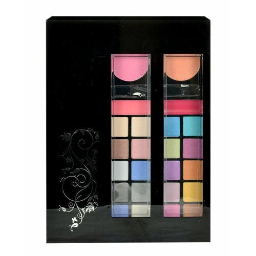 Makeup Trading Schmink Set Styles To Go dekorativní kazeta Complet Make Up Palette pro ženy