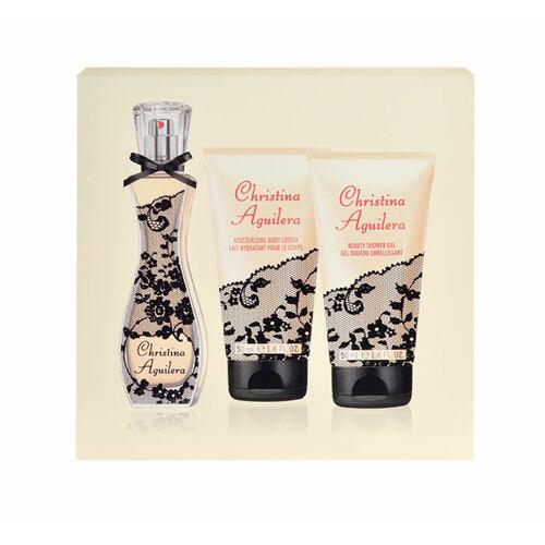 Christina Aguilera Christina Aguilera EDP EDP 30 ml + sprchový gel 50 ml + tělové mléko 50 ml pro ženy