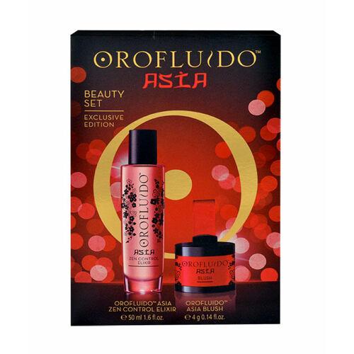 Orofluido Asia Zen olej a sérum na vlasy elixír na vlasy 50 ml + tvářenka 4 g pro ženy