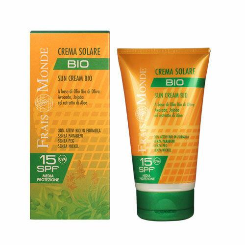 Frais Monde Sun Cream SPF15 opalovací přípravek na tělo 150 ml pro ženy