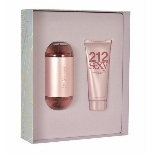 Carolina Herrera 212 Sexy EDP EDP 100 ml + tělové mléko 100 ml pro ženy