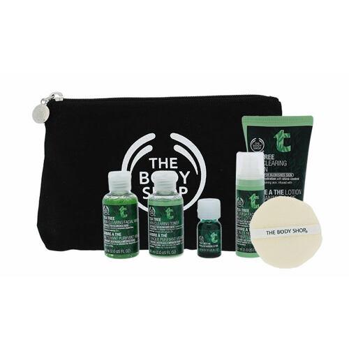 The Body Shop Tea Tree čisticí gel dárková kazeta pro ženy