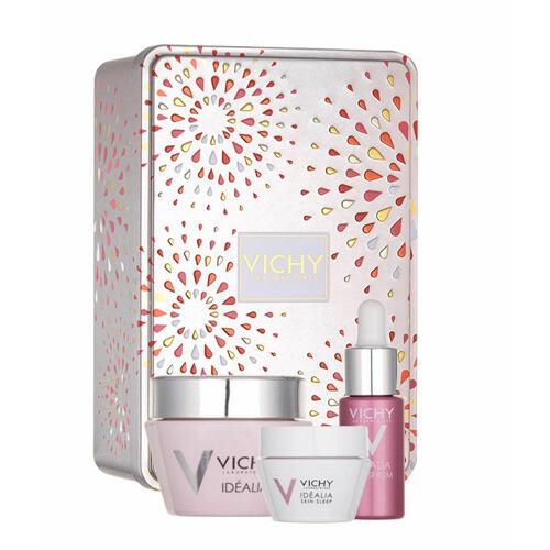Vichy Idéalia Smoothing Cream denní pleťový krém denní pleťová péče 50 ml + noční pleťová péče 15 ml + pleťové sérum 7 ml pro ženy