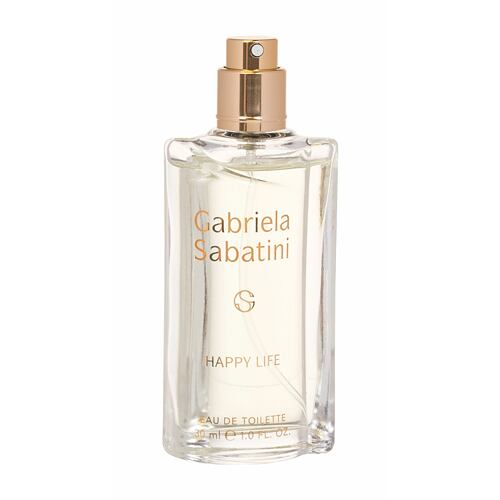 Gabriela Sabatini Happy Life EDT 30 ml Tester pro ženy