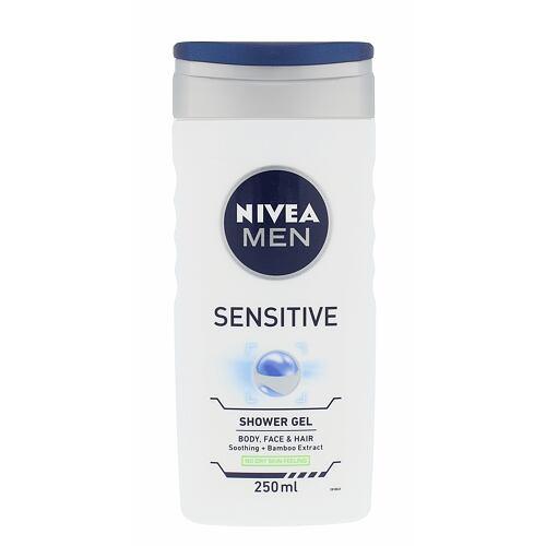 Nivea Men Sensitive sprchový gel 250 ml pro muže
