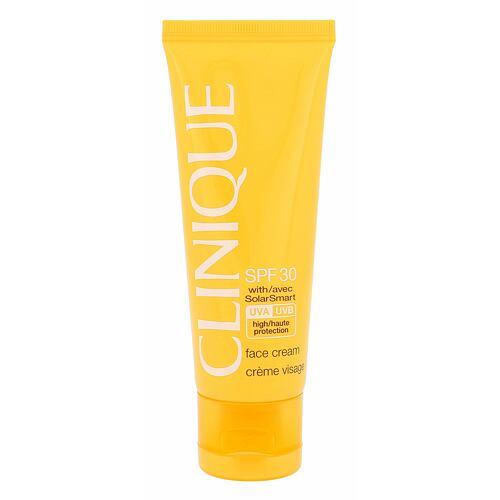 Clinique Sun Care SPF30 opalovací přípravek na obličej 50 ml pro ženy