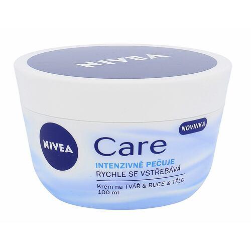 Nivea Care denní pleťový krém 100 ml pro ženy