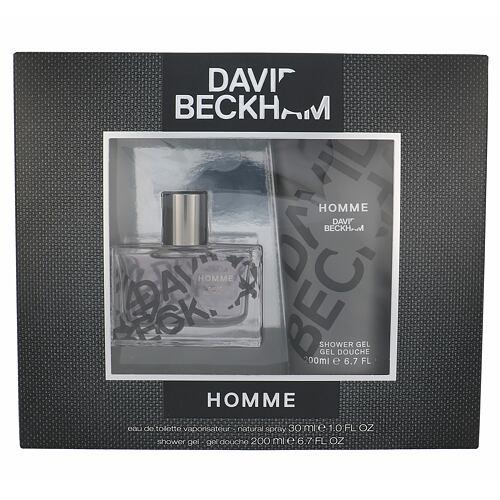 David Beckham Homme EDT EDT 30 ml + sprchový gel 200 ml pro muže