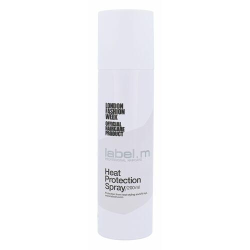Label m Heat Protection Spray pro tepelnou úpravu vlasů 200 ml pro ženy