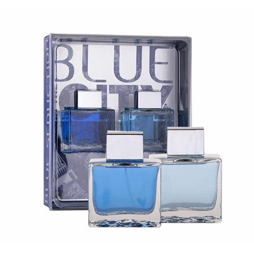 Antonio Banderas Blue Seduction For Men EDT EDT 100 ml + voda po holení 100 ml Poškozená krabička pro muže