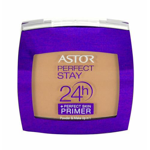 Astor Perfect Stay 24h Make Up & Powder + Perfect Skin Primer makeup 7 g Poškozená krabička pro ženy