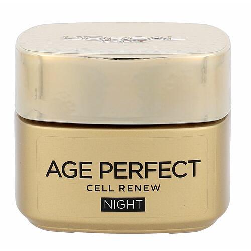 L´Oréal Paris Age Perfect Cell Renew noční pleťový krém 50 ml pro ženy
