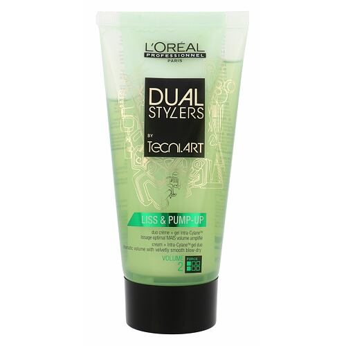 L´Oréal Professionnel Dual Stylers Liss & Pump-Up gel na vlasy 150 ml pro ženy