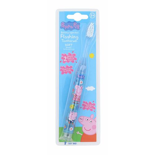 Peppa Pig Peppa Battery-Operated Flashing Toothbrush zubní kartáček 1 ks Unisex