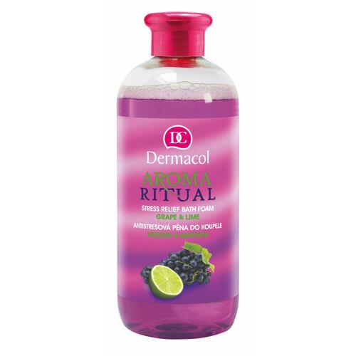 Dermacol Aroma Ritual Grape & Lime pěna do koupele 500 ml pro ženy
