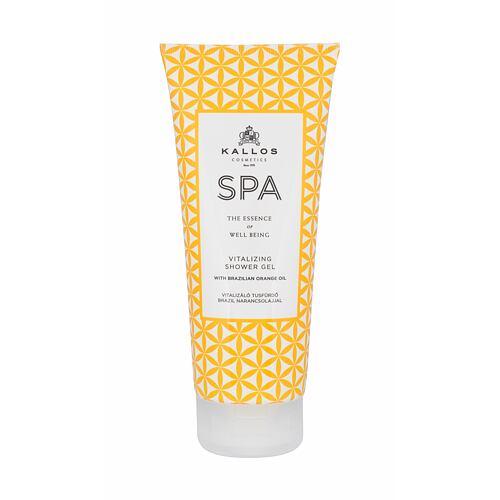 Kallos Cosmetics SPA Vitalizing sprchový gel 200 ml pro ženy