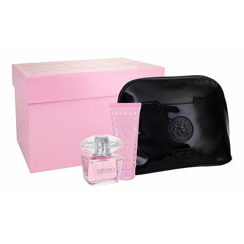 Versace Bright Crystal EDT EDT 90 ml + tělové mléko 100 ml + kosmetická taška pro ženy