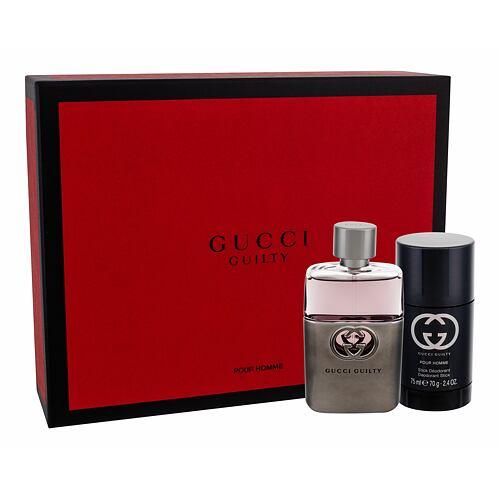 Gucci Guilty Pour Homme EDT EDT 50 ml + deostick 75 ml pro muže