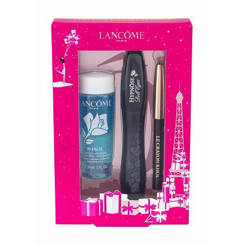 Lancome Hypnose Doll Eyes řasenka řasenka 6,5 ml + tužka na oči Le Crayon Khol 0,7 g 01 Noir + odličovací přípravek na oči Bi-Facil 30 ml pro ženy