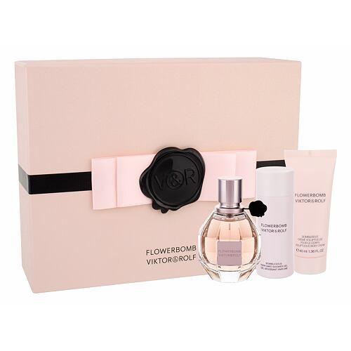 Viktor & Rolf Flowerbomb EDP EDP 50 ml + sprchový gel 50 ml + tělový krém 40 ml pro ženy