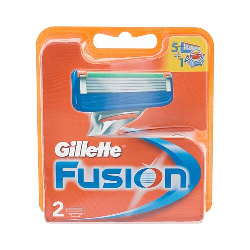 Gillette Fusion náhradní břit 2 ks pro muže