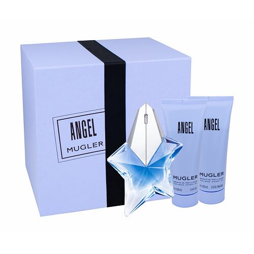 Thierry Mugler Angel EDP EDP 50 ml naplnitelný + tělové mléko 100 ml + sprchový gel 100 ml Napl