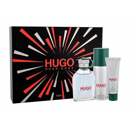 HUGO BOSS Hugo Man EDT EDT 125 ml + deodorant 150 ml + sprchový gel 50 ml pro muže