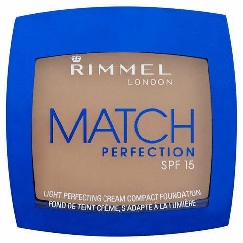 Rimmel London Match Perfection Compact Foundation SPF15 makeup 7 g pro ženy