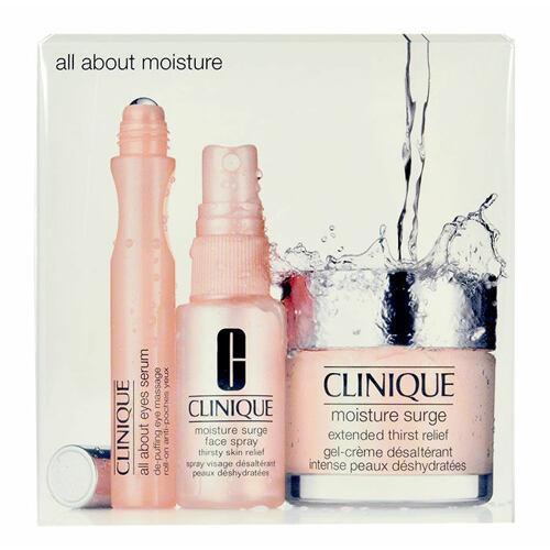 Clinique Moisture Surge pleťový gel dárková kazeta pro ženy