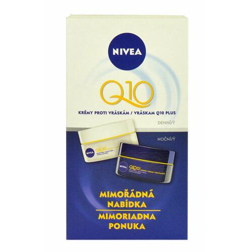 Nivea Q10 Plus denní pleťový krém denní pleťový krém 50 ml + noční pleťový krém 50 ml pro ženy