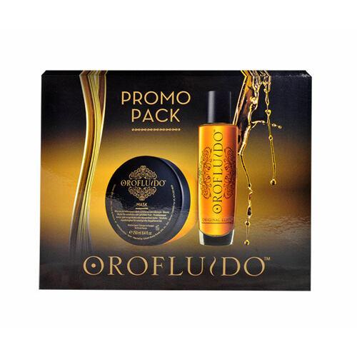 Orofluido Beauty Elixir pleťové sérum tekuté zlato 100 ml + maska na vlasy 250 ml pro ženy