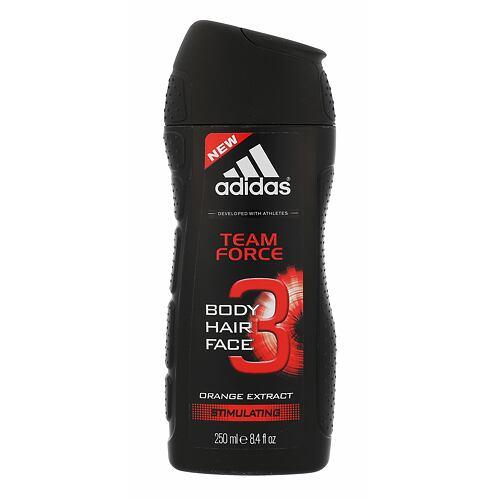 Adidas Team Force 2in1 sprchový gel 250 ml pro muže